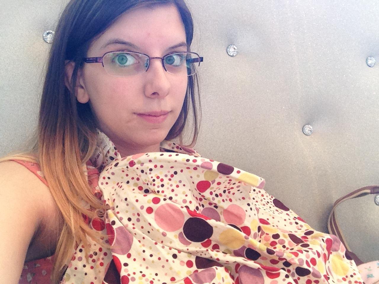 My amazing breastfeeding scarf