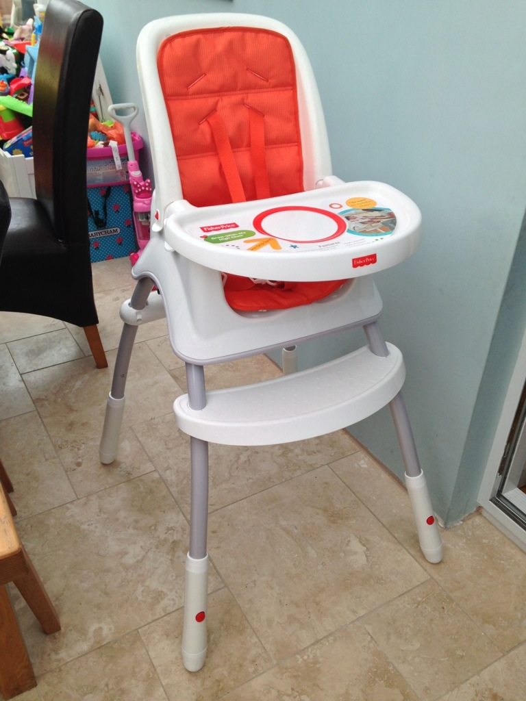 eca9aabdd22 Fisher-Price Grow-With-Me Highchair Review - Life With Pink Princesses