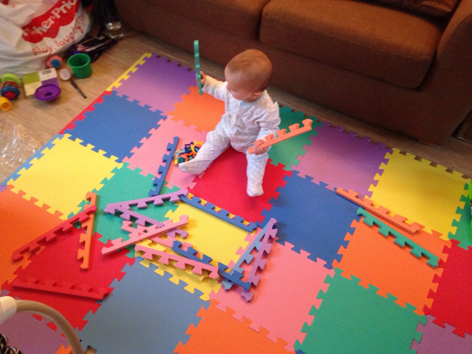 Soft Floor Kids 30 Piece Puzzle Foam Play Mat Review