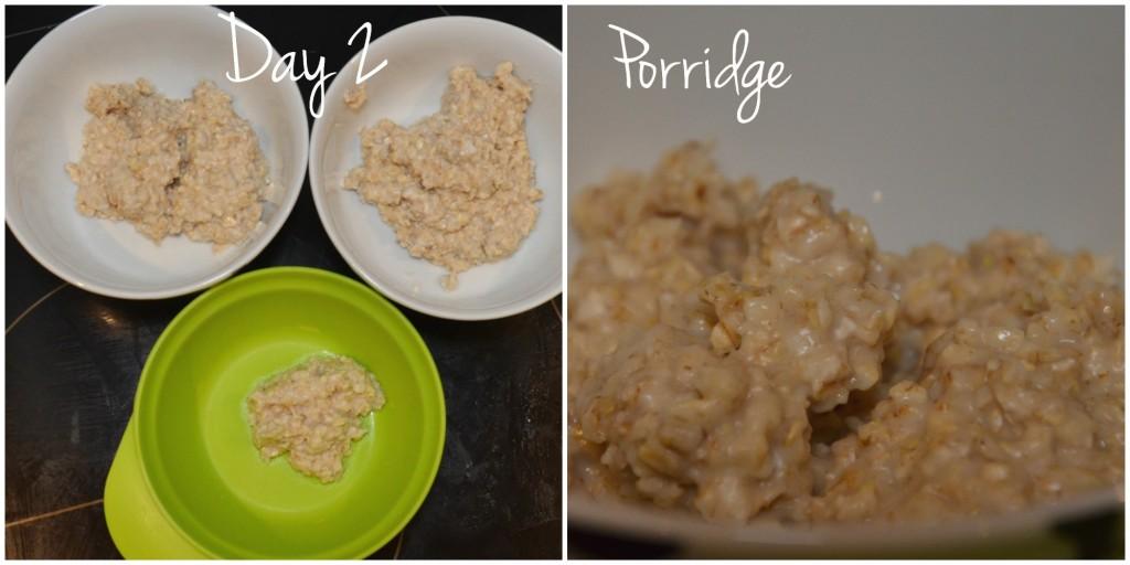 day 2 - porridge