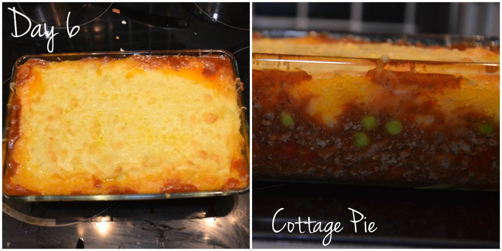 day 6 - cottage pie