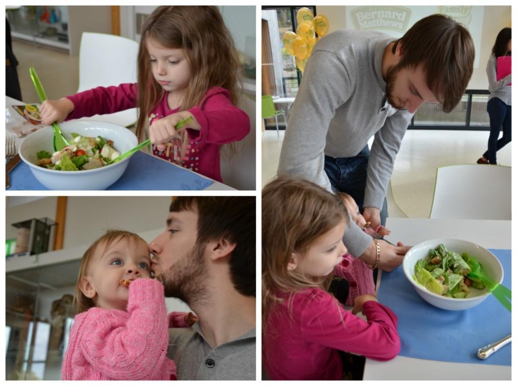 tasting salad BM event