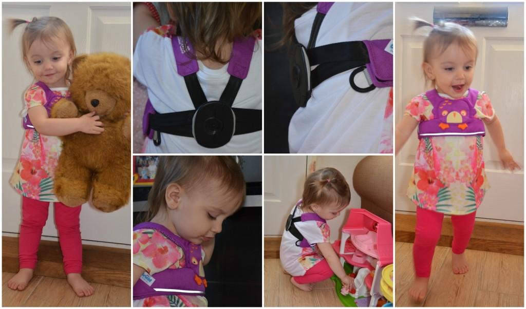 toddlepak wearing
