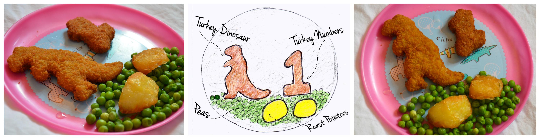 BERNARD MATTHEWS TURKEY DINOSAURS DESIGN