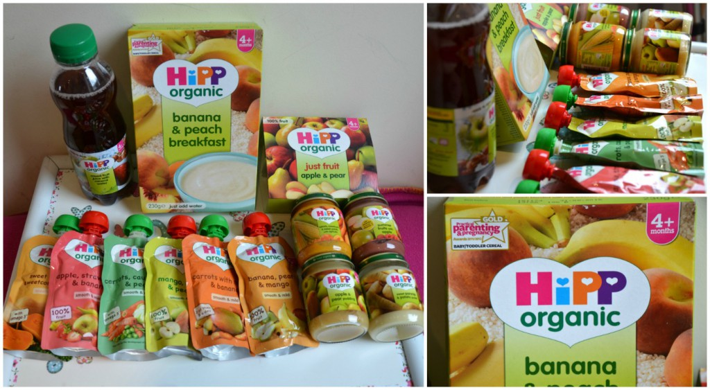 HiPP Organic weaning products