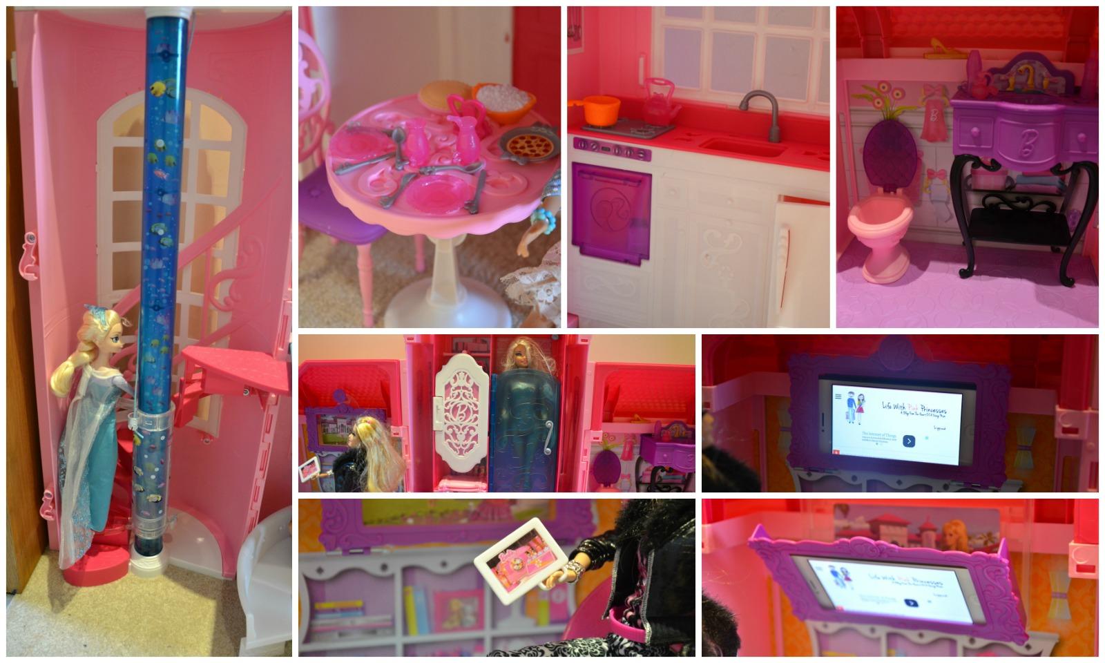 barbie malibu house detail