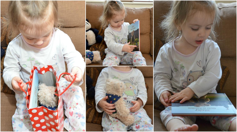 binky bear gift set