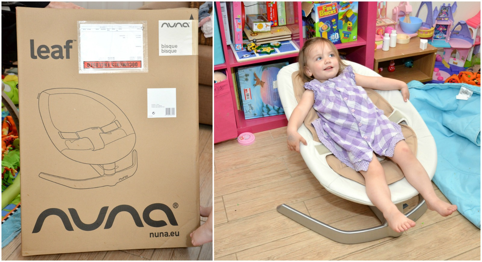 Itu0027s definitely not like other chairs weu0027ve had before. Itu0027s very simple and does what itu0027s intended. The nuna LEAF is inspired by the gentle swaying of ...  sc 1 st  Life With Pink Princesses & Nuna LEAF Review - Life With Pink Princesses