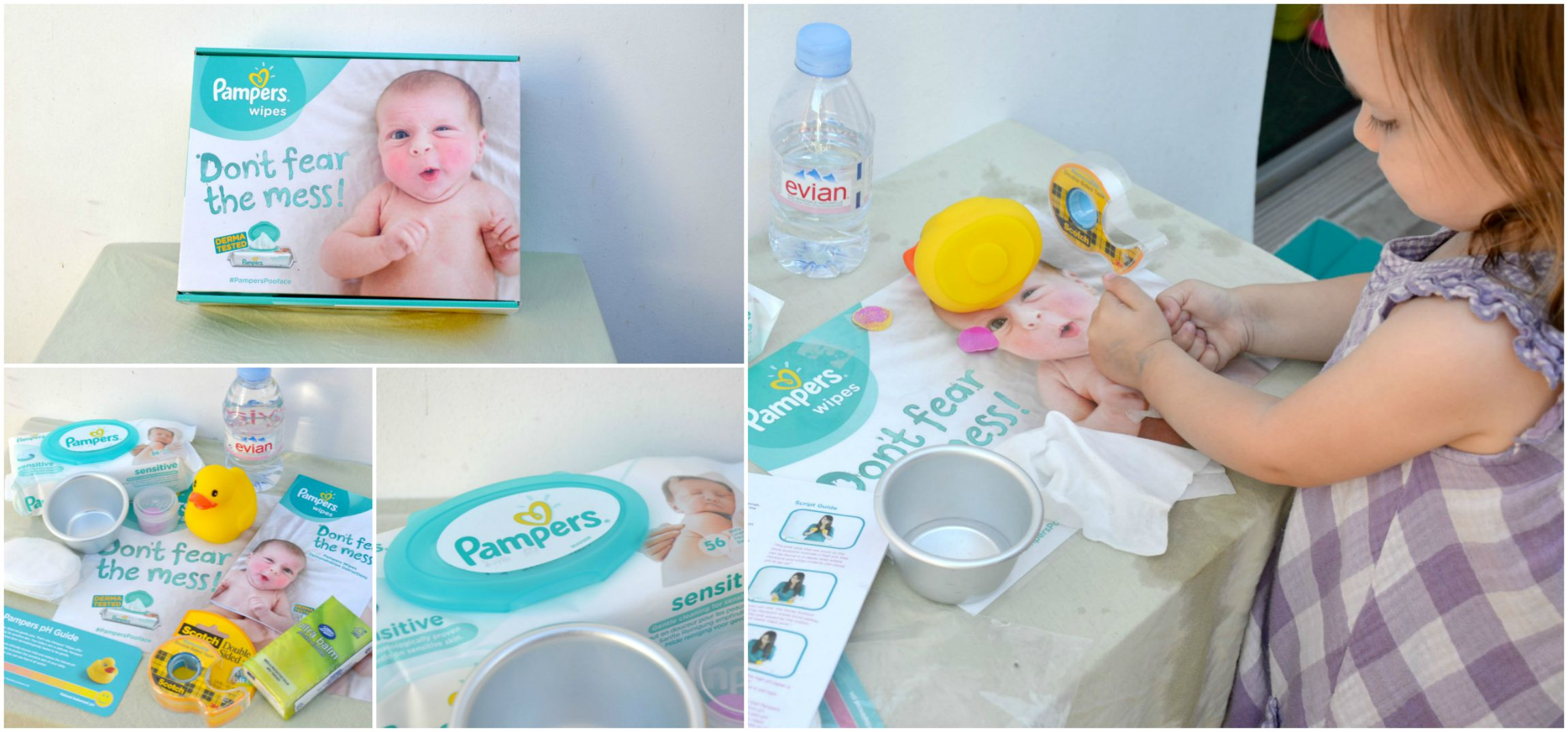 pampers pooface equipment