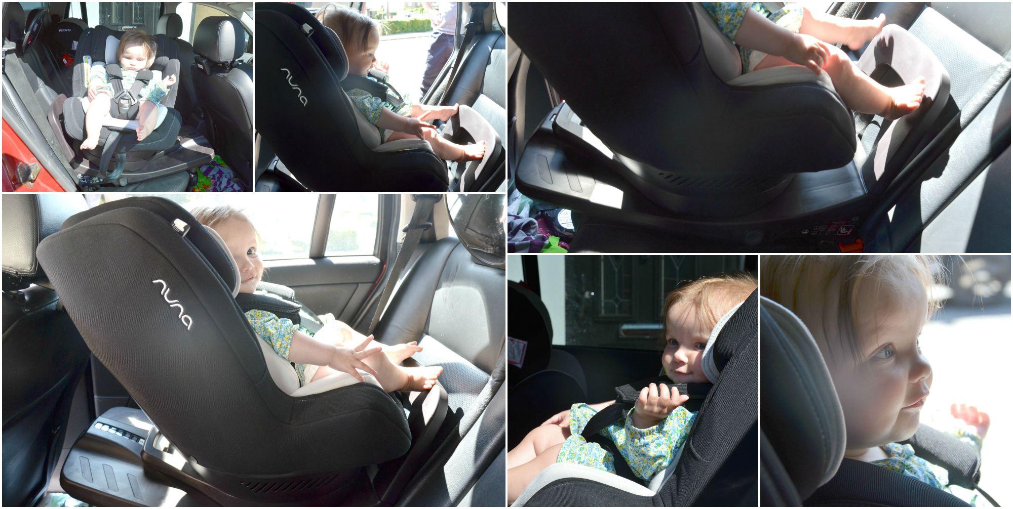 nuna rebl in car