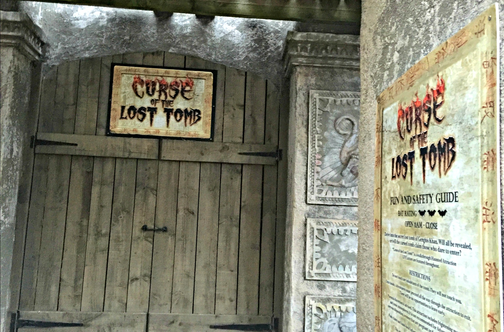 curse of lost tomb
