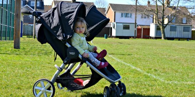 Britax B Agile Double Pushchair Review Life With Pink Princesses