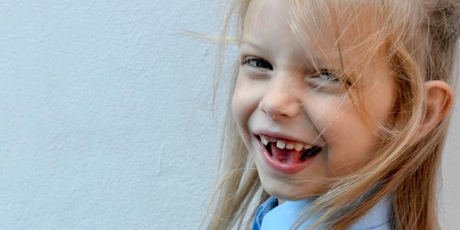 education, school uniform, happy, school, summer school, daughter, smile, lost tooth, front tooth