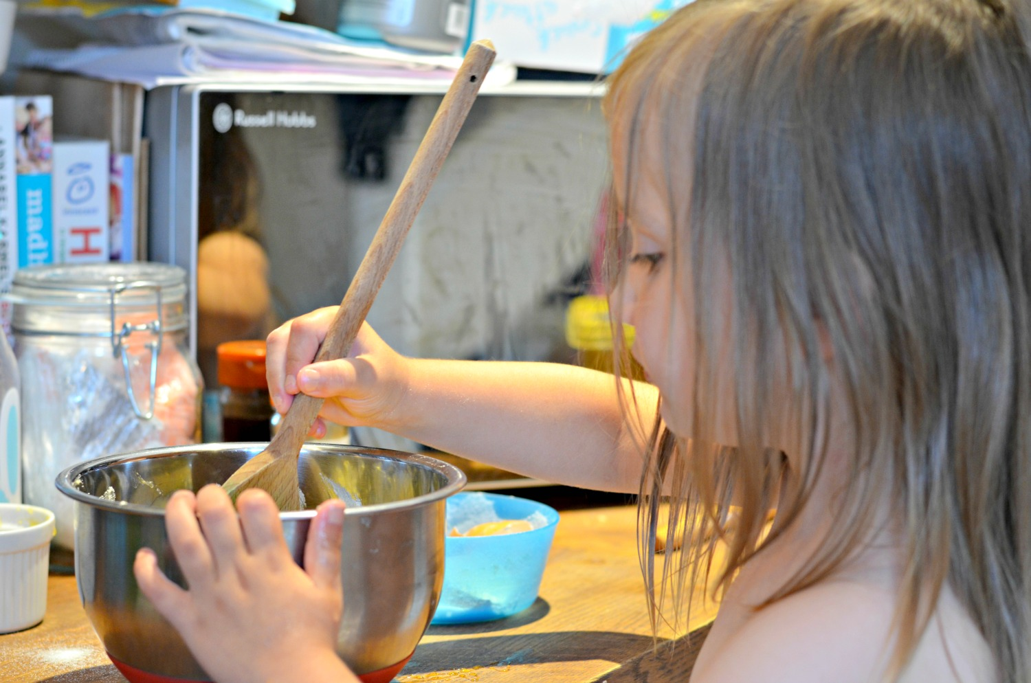 baking, cakes, syrup sponge, happy, kids baking, children, parenting, family, love, kitchen, foodie, food, activity