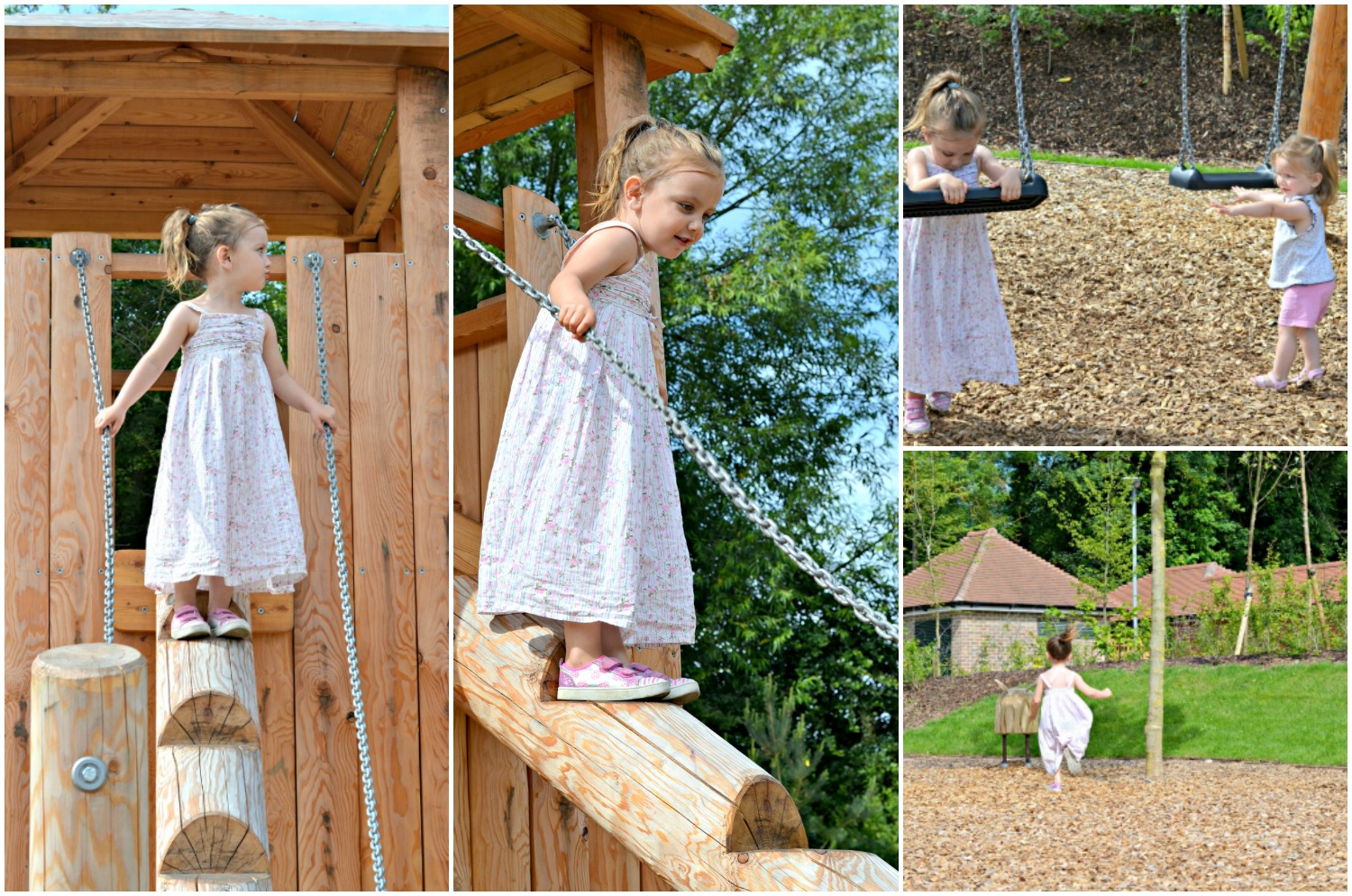 park, children, playground, new park, summer, hot weather, dress, pretty, fun in the sun