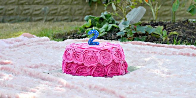 A 2nd Birthday Cake Smash