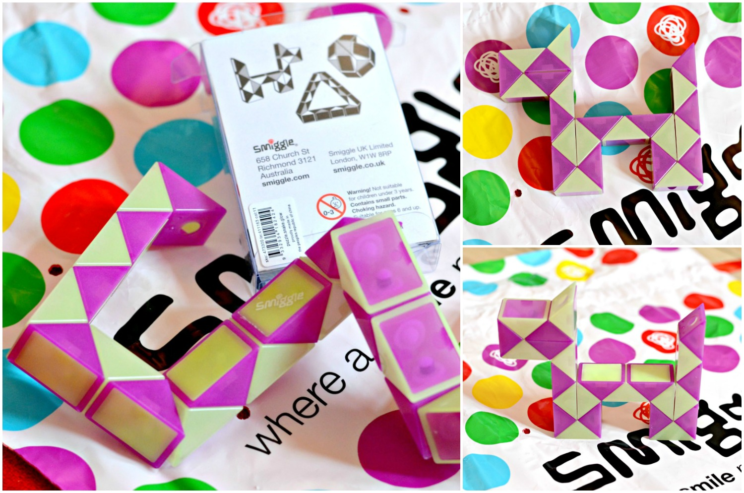 SMIGGLE SNAKE PUZZLE